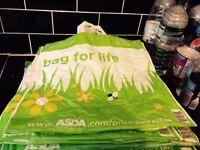 Asda bags for life x 10 FREE