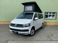 2018 68 VW Transporter T6 150PS Highline Camper Van, New Campervan Conversion
