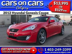 2012 Hyundai Genesis Coupe 2.0T w/Leather, Sunroof, BlueTooth $1