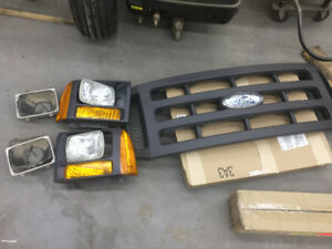 XL F350-F450 Grille and headlights