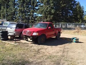 2001 f150 with 460  and highback C6  Strathcona County Edmonton Area image 2
