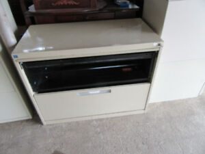2 Drawer metal cabinet $20