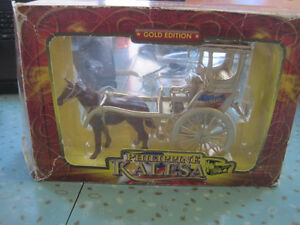 J & J Pinoy Crafts Die Cast Metal Gold Edition Philippine KALESA