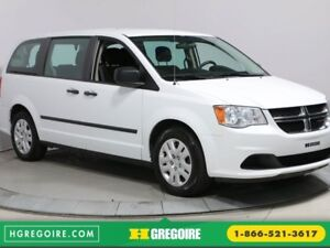 2016 Dodge GR Caravan CANADA VALUE PKG A/C GR ELECTRIQUE