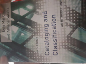 Cataloging and Classification Fourth Edition