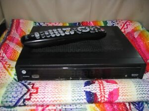 Motorola cable box with shaw remote.