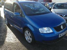 Volkswagen Touran 1.9TDI PD ( 7st ) 2004 S SEVEN SEATER GREAT MPG