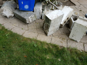 Free concrete weights