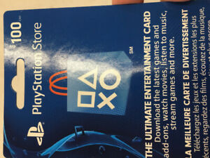Selling $100 PSN Gift Card for $75