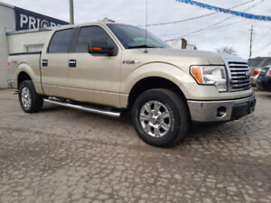 2010 Ford F150 XTR SuperCrew with LOW KMS