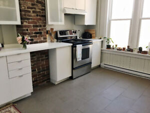 Newly renovated unit beside commons (lease takeover) immediate