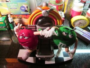 M&M Jukebox Rock and Roll Candy Dispenser