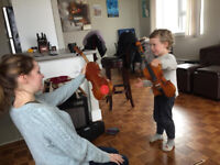 VIOLIN, PIANO AND THEORY LESSONS