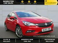 2016 Vauxhall Astra SRI NAV CDTI SS Hatchback Diesel Manual