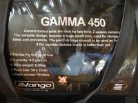 Vango GAMMA 450 4/5 man tent