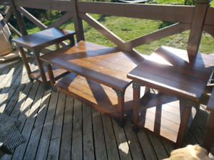Coffee table and end tables - from Ashley's furniture