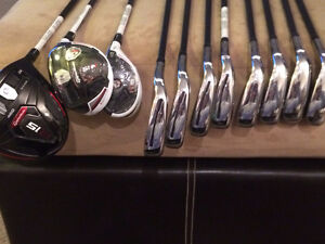 Taylor Made RSi irons and R15 Driver+3 wood+hybrid Edmonton Edmonton Area image 1