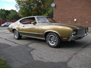 1972 OLDSMOBILE CUTLASS S $16,900 nego