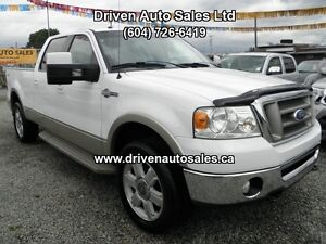 2008 Ford F-150 King Ranch Crew Cab 4x4 Long Box Pickup Truck