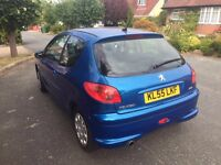 PEUGEOT 206 !!! 1.4 Sports For Sale, Low Milage