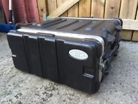 Flightcases - various sizes available. To fit mixer and rack equipment. 2U 4U 6U