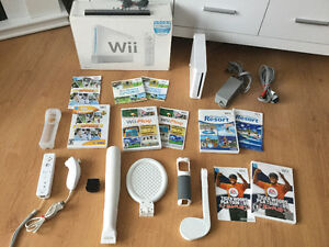 Wii -golf-basebal-raquette-Deca Sport-Wii Sport - Resort etc.. 1