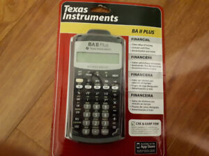 BA II PLUS Calculator for sale !