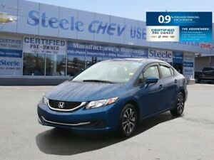 2015 HONDA CIVIC EX - SUNROOF, Heated Seats, Alloys and much mor
