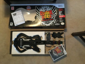 Guitar Hero Warriors of Rock Guitar Bundle Wii