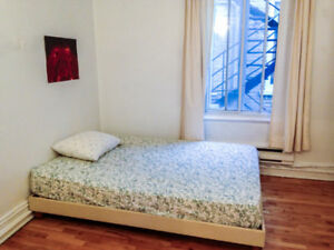 01Oct.-1July: Lovely room available for sublet $500/month+bills