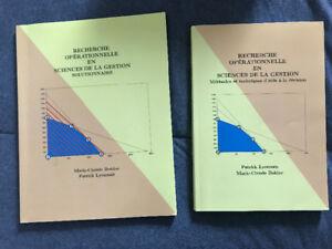 Livres - Recherche opérationnelle en sciences de la gestion