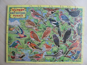 Vintage plywood puzzle