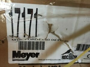 Meyer side mounts and light adapter harness for Ford F150 09-14