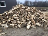 Firewood for sale. Delivery available