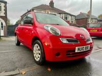 2010 NISSAN MICRA1.2 5DOORS, TWO OWNERS,MOT 24/12/2021,SERVICE HISTORY, RELIABLE