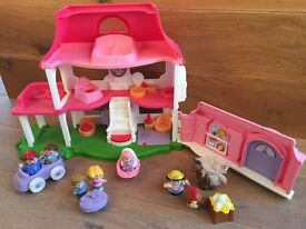 Fisher Price Little People House and extra figures