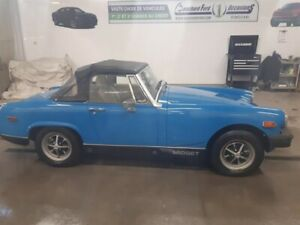 MG Midget Decapotable 1979