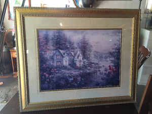 """Picture of a Home on the River  """"MINT"""""""