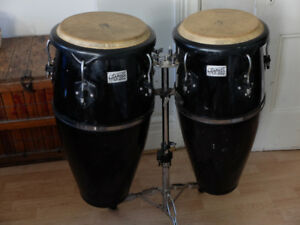 Toca Player's Congas and stand