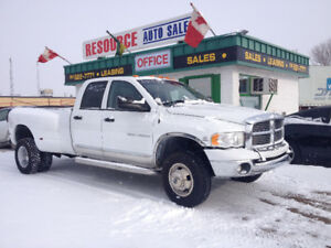 2005 Dodge Power Ram 3500 Quad Cab 4X4 Diesel Pickup Truck