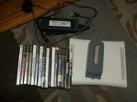 Xbox 360 With Hard Drive And Games