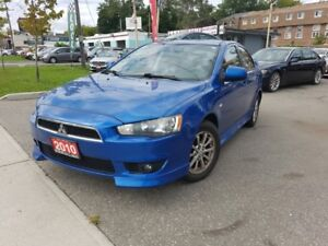 2010 Mitsubishi Lancer 4dr Sdn SE|Power Luck , Windows | Sport S