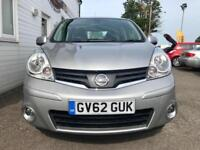 Nissan Note Acenta 1.6 Automatic PETROL AUTOMATIC 2012/62