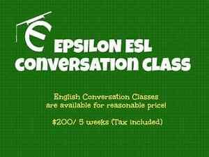 Adult ESL Conversation Class in Leslieville!