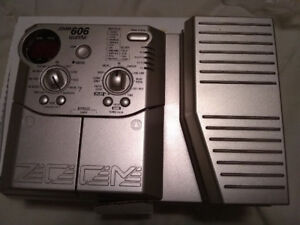 Zoom 606 Guitar Multi-Effects Pedal