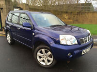 2005 05 NISSAN X-TRAIL 2.5i SVE WITH FULL BLACK LEATHER INTERIOR