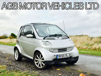 ** SMART CITY PASSION 61 AUTO 698CC AUTOMATIC SMART CAR CONVERTIBLE CABRIOLET **