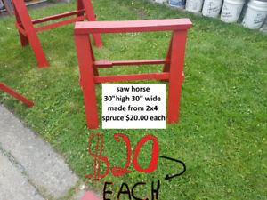 / saw  horse $20