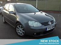 2005 VOLKSWAGEN GOLF 2.0 GT TDI Low Miles Climate Control