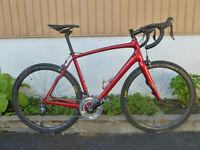 56 cm spécialized SWORKS roubaix team htc vélo de route